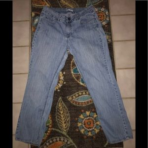 16 Petite Mid Rise Boot Cut Lee Jeans 👖